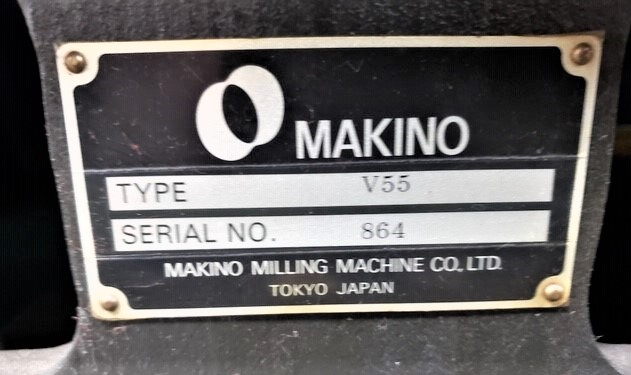 Makino V55 Precision 3-Axis CNC Vertical Machining Center, S/N 864, New 2000 - Image 10 of 14