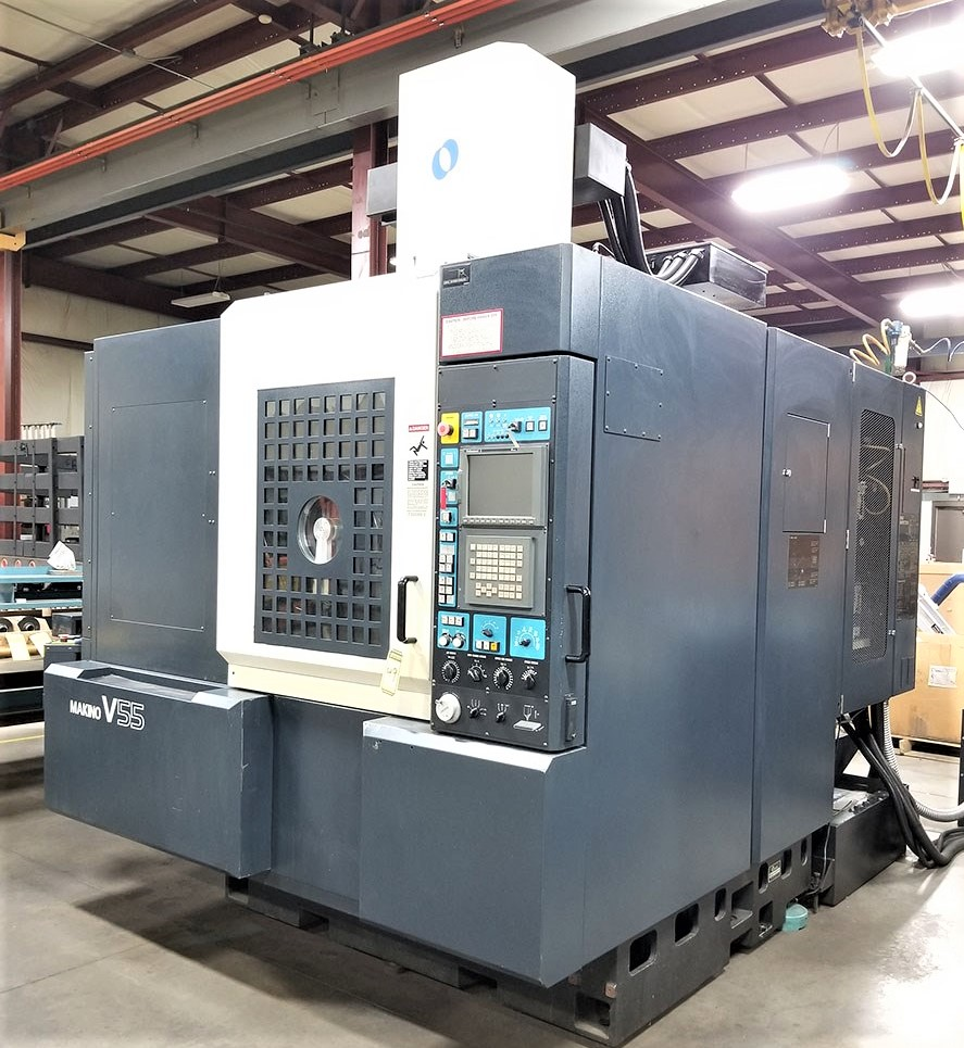 Makino V55 Precision 3-Axis CNC Vertical Machining Center, S/N 864, New 2000 - Image 2 of 14