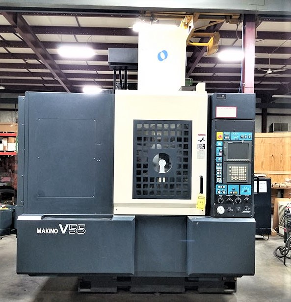 Makino V55 Precision 3-Axis CNC Vertical Machining Center, S/N 864, New 2000 - Image 13 of 14