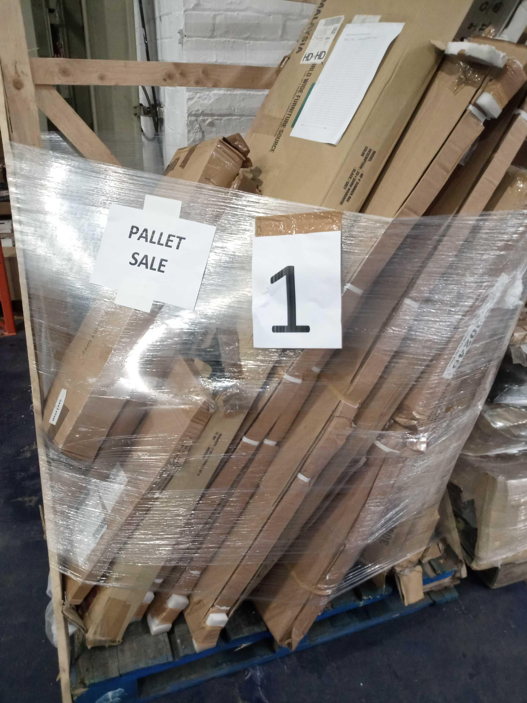 RRP £400 Pallet Of Flatpack Furniture Partlots