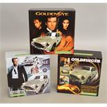 James Bond 007 3 limited edition Scalextric slot cars; C3162A Aston Martin DB5 'Casino Royale'