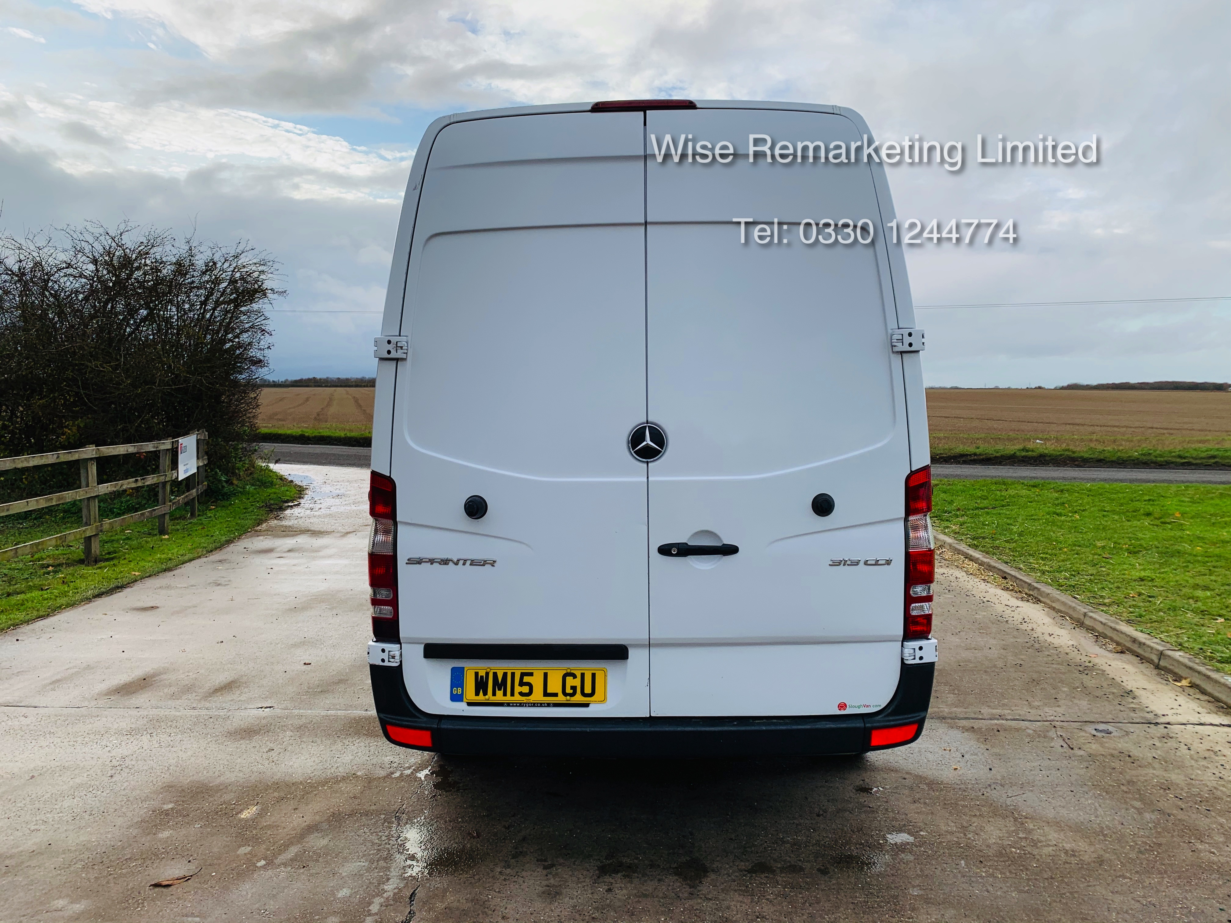 *Reserve Met* Mercedes Sprinter 313 CDI 2.1TD - 2015 15 Reg - Company Maintained - Low Miles - Image 4 of 16