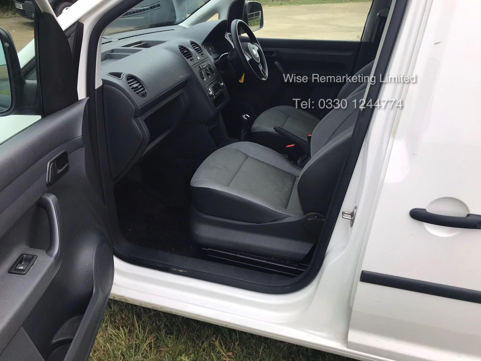 Volkswagen Caddy C20 + Startline 1.6 Tdi - 2014 Model - White - Side Loading Door - Ply Lined - Image 8 of 13