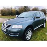 Volkswagen Touareg 2.5 TDI SE Sport Auto - 2006 Model - Full Leather - Sat Nav - 4x4
