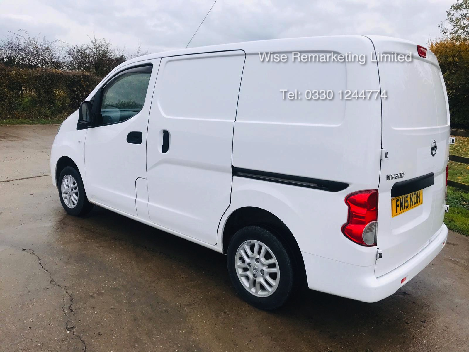 Nissan NV200 1.5 DCI Tekna Van 2015 15 Reg - 1 Keeper From New - Service History - Parking Sensors - Image 2 of 23