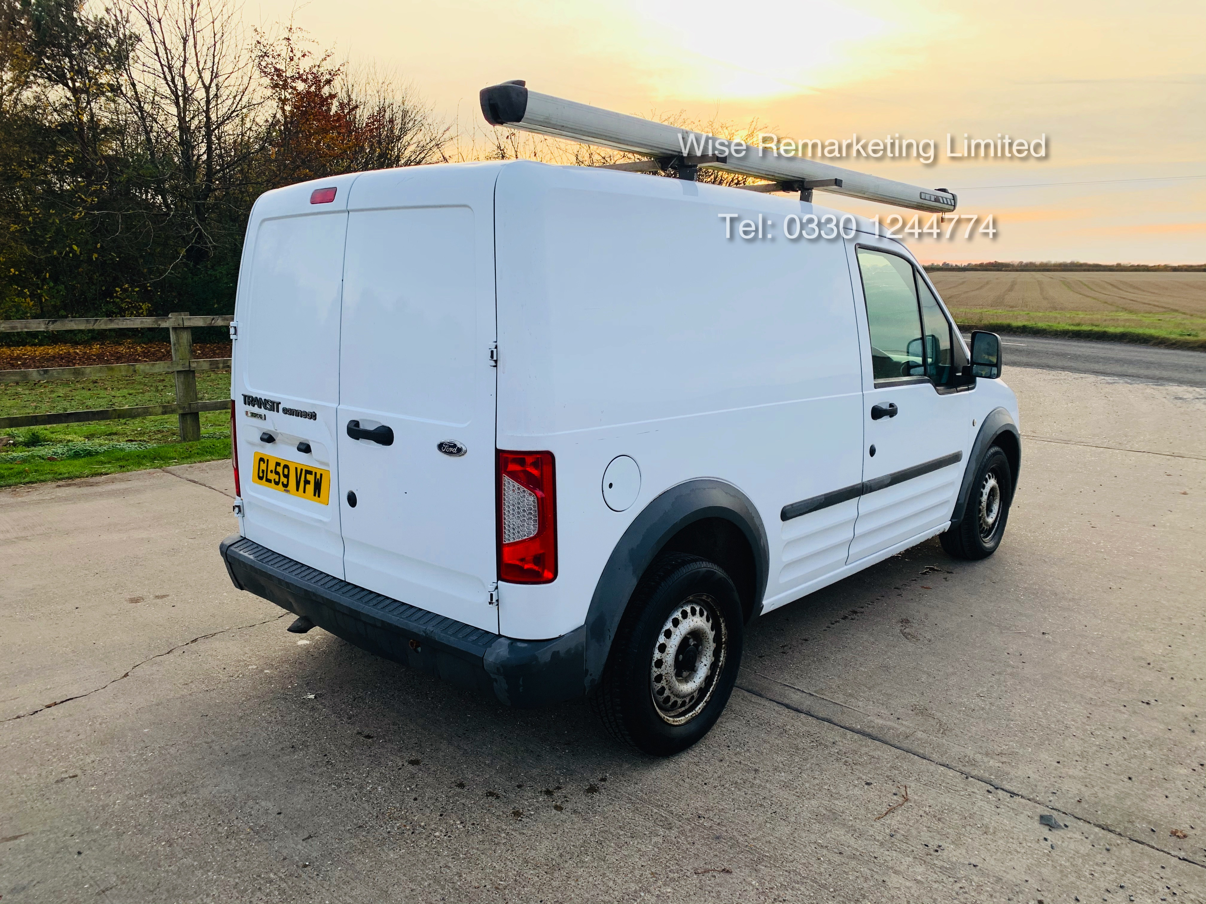 Ford Transit Connect T200 1.8 - 2010 Model - Side Loading Door - Ply Lined - Image 3 of 19