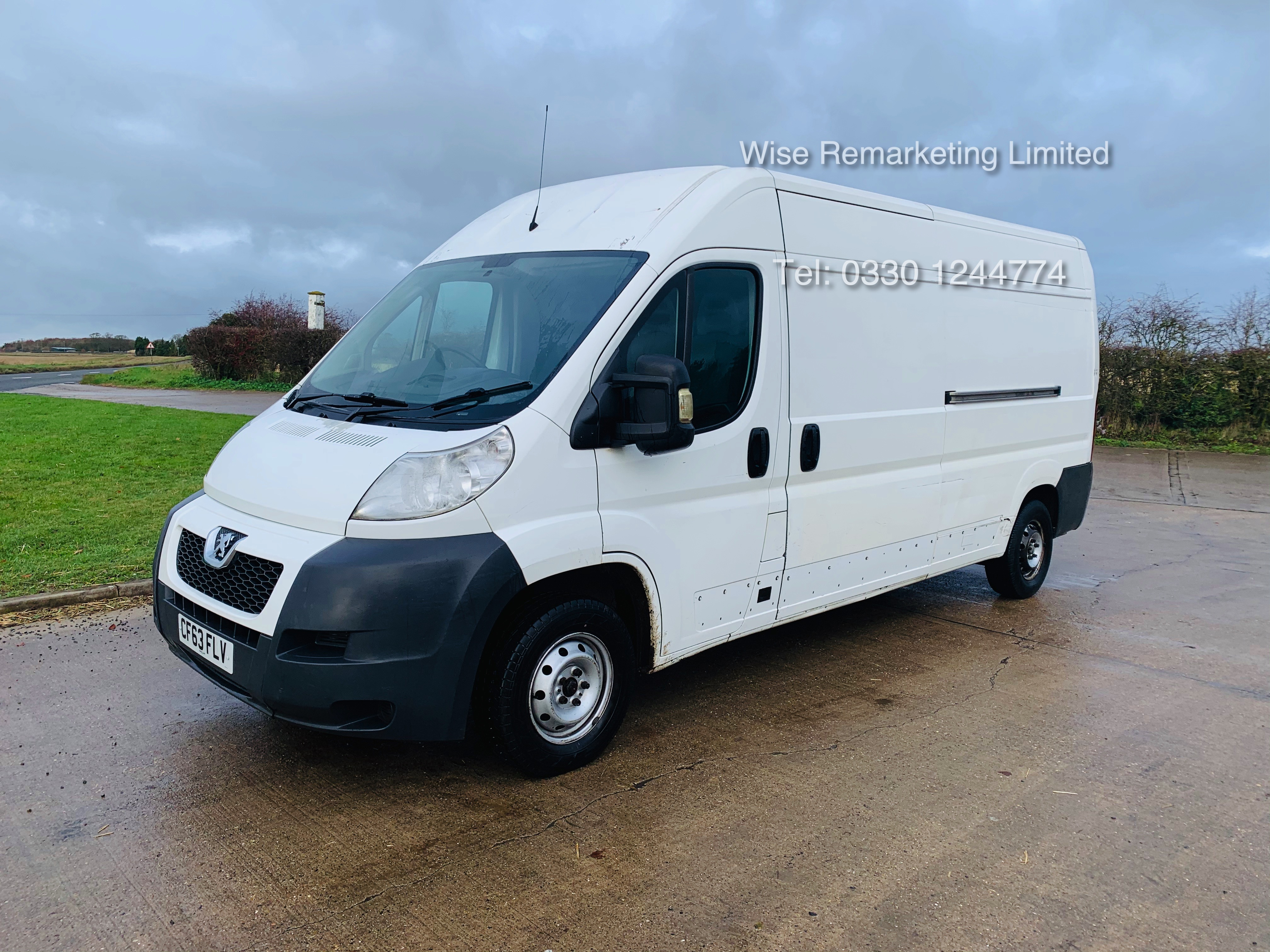 Peugeot Boxer 335 2.2 HDi (L3H2) 2014 Model - 1 Keeper From New - Long Wheel Base