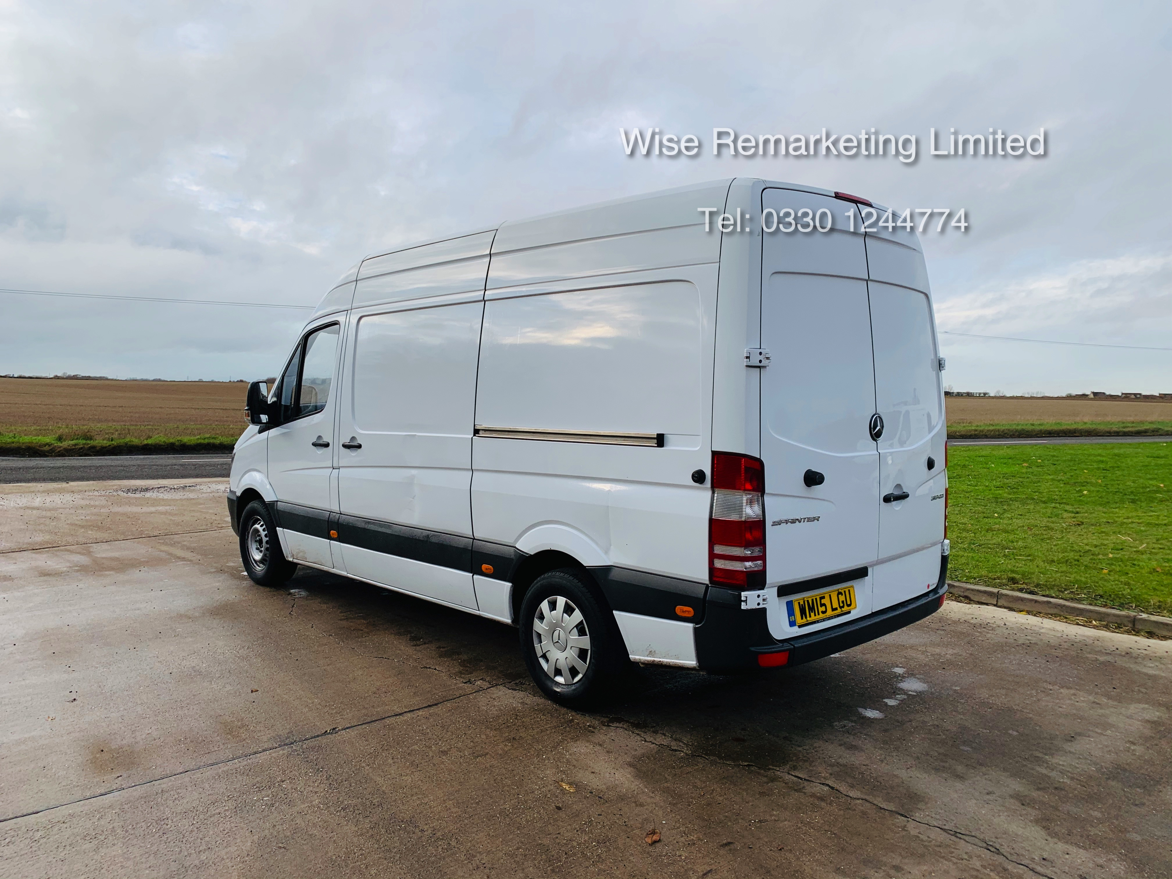 *Reserve Met* Mercedes Sprinter 313 CDI 2.1TD - 2015 15 Reg - Company Maintained - Low Miles - Image 5 of 16