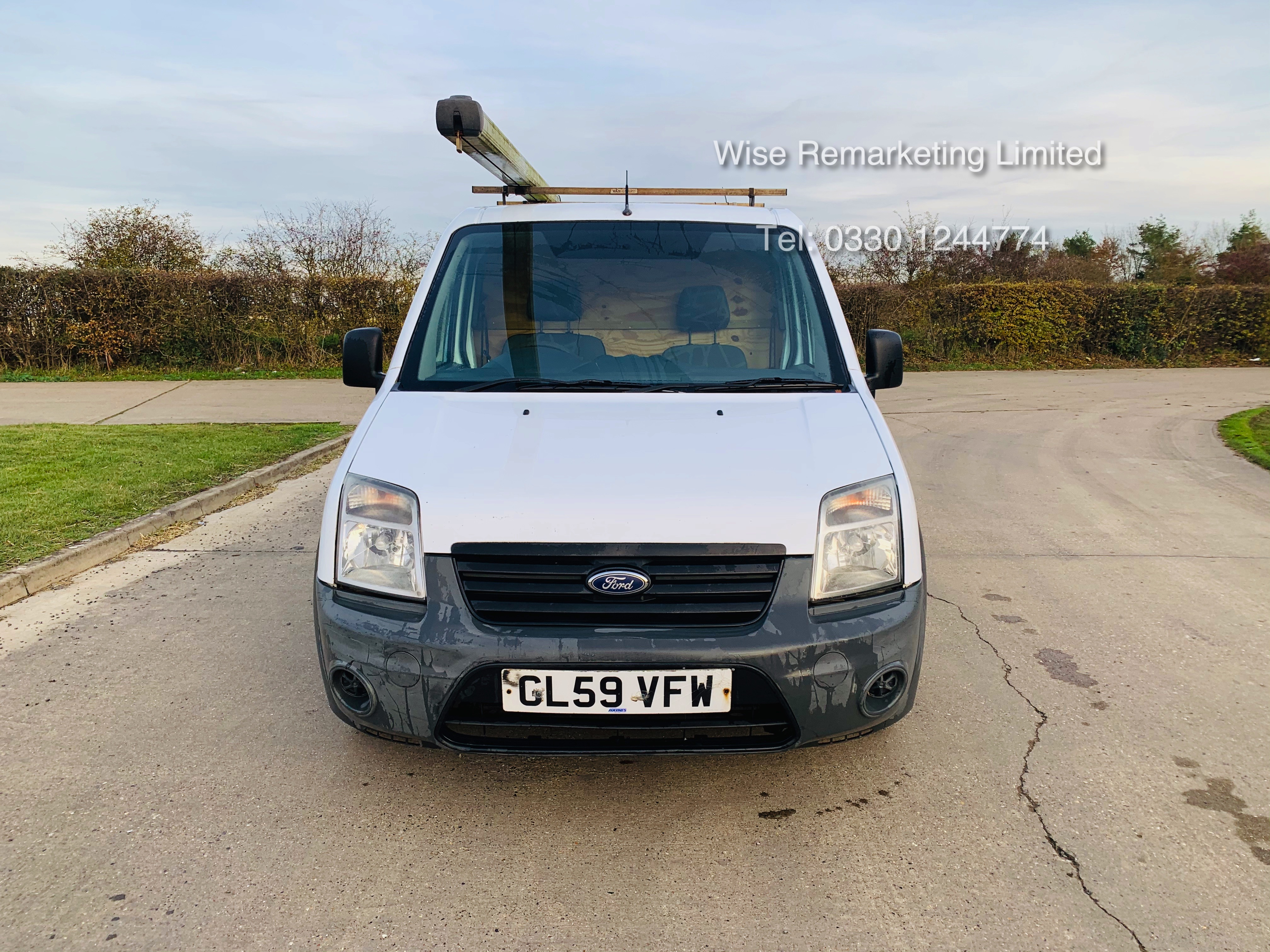 Ford Transit Connect T200 1.8 - 2010 Model - Side Loading Door - Ply Lined - Image 7 of 19