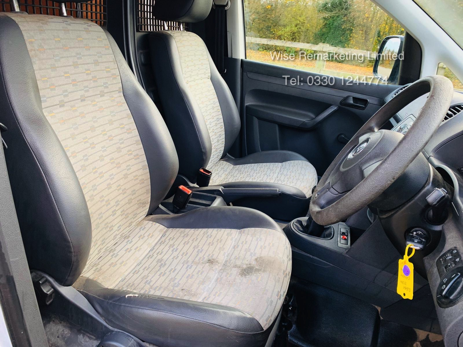 Volkswagen Caddy C20 1.6 TDI - 2012 Model - 1 Keeper From New - Side Loading Door - Ply Lined - Image 11 of 16