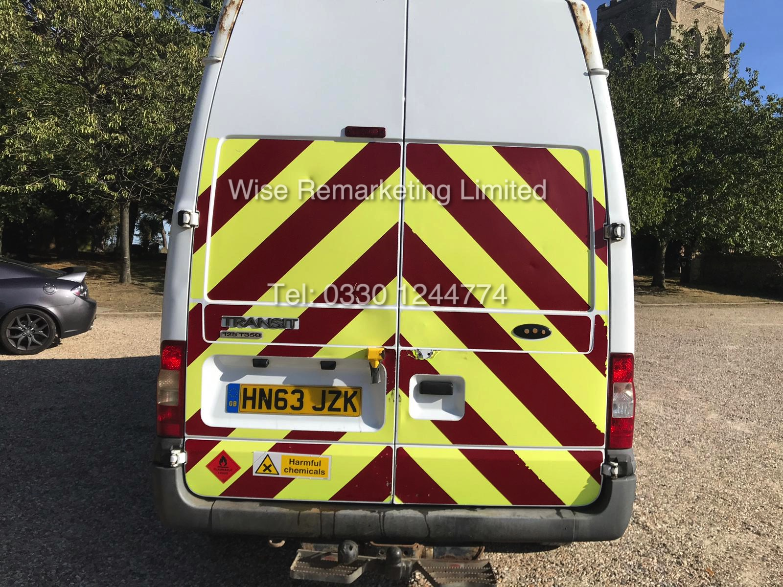 FORD TRANSIT 2.2Tdci T350 RWD *125 BHP* 6 SEATER MESSING UNIT (2014 MODEL) 1 KEEPER FROM NEW - Image 5 of 13