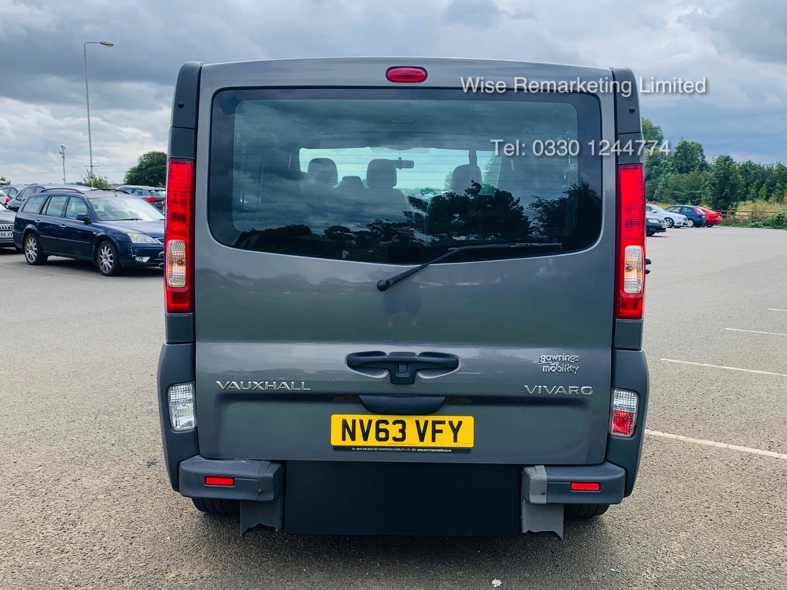 Vauxhall Vivaro 2.0 CDTI 2900 Minibus - 2014 Model - Wheel Chair Access -1 Owner From New -History - Image 6 of 21