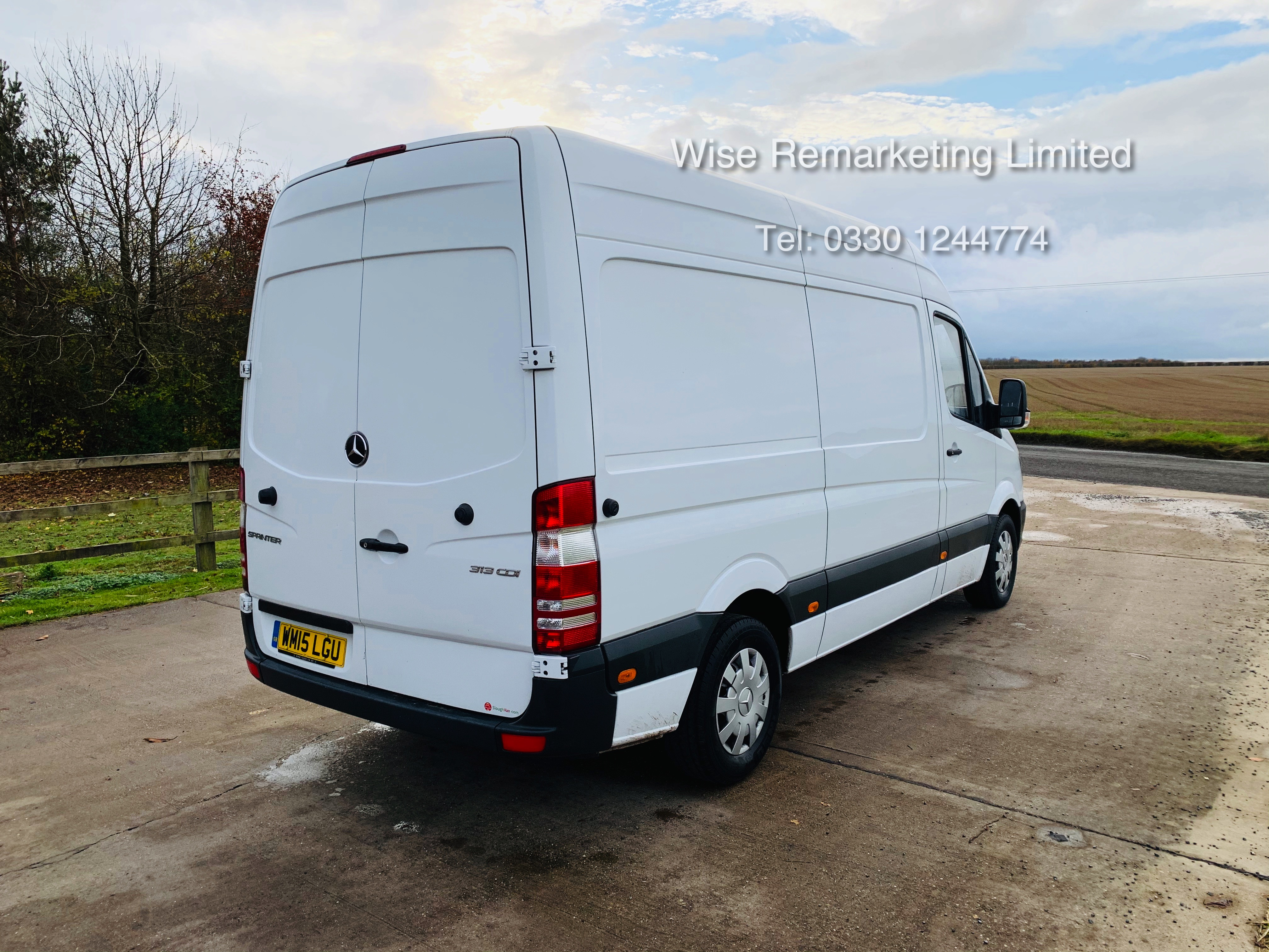 *Reserve Met* Mercedes Sprinter 313 CDI 2.1TD - 2015 15 Reg - Company Maintained - Low Miles - Image 3 of 16