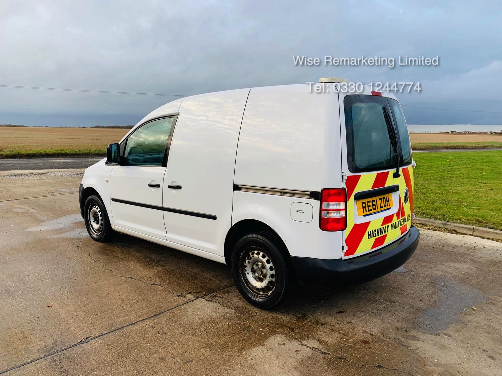 Volkswagen Caddy C20 1.6 TDI - 2012 Model - 1 Keeper From New - Side Loading Door - Ply Lined - Image 7 of 16