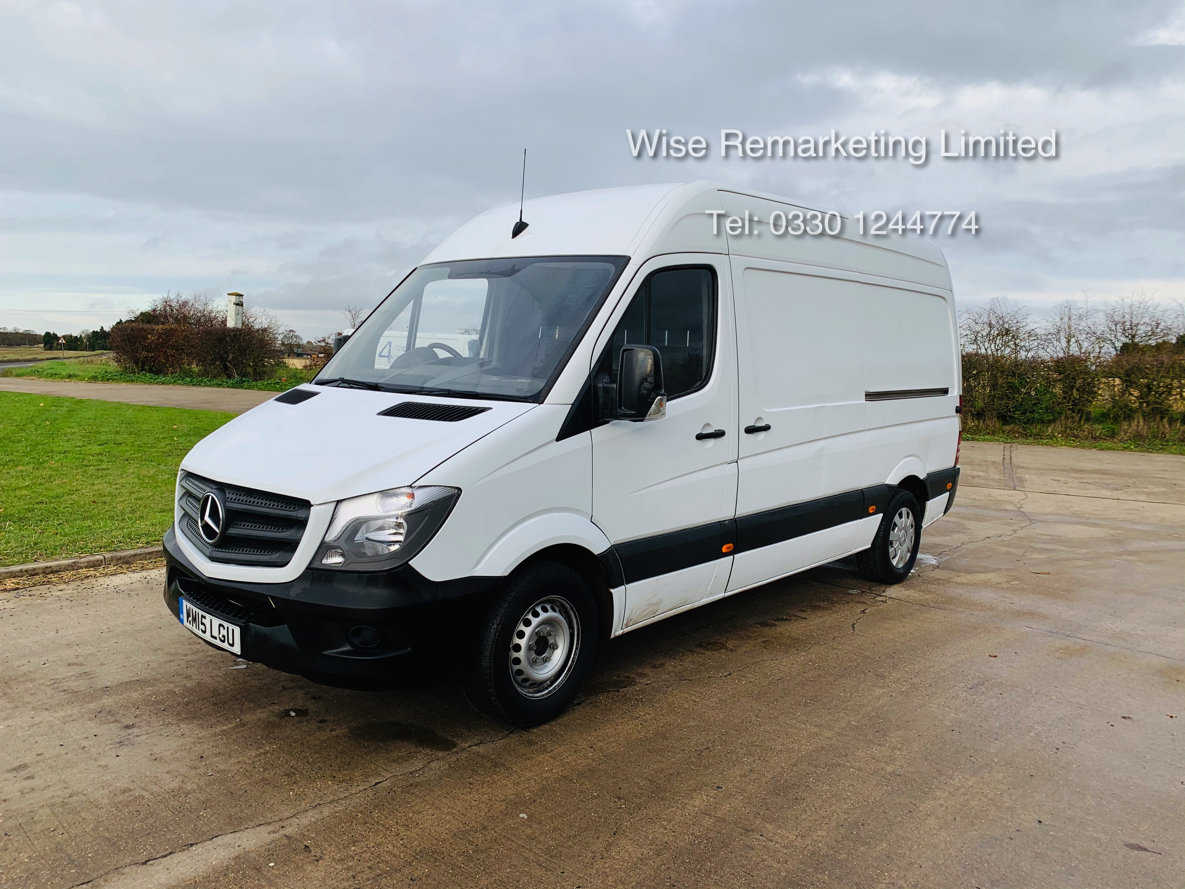 *Reserve Met* Mercedes Sprinter 313 CDI 2.1TD - 2015 15 Reg - Company Maintained - Low Miles - Image 7 of 16