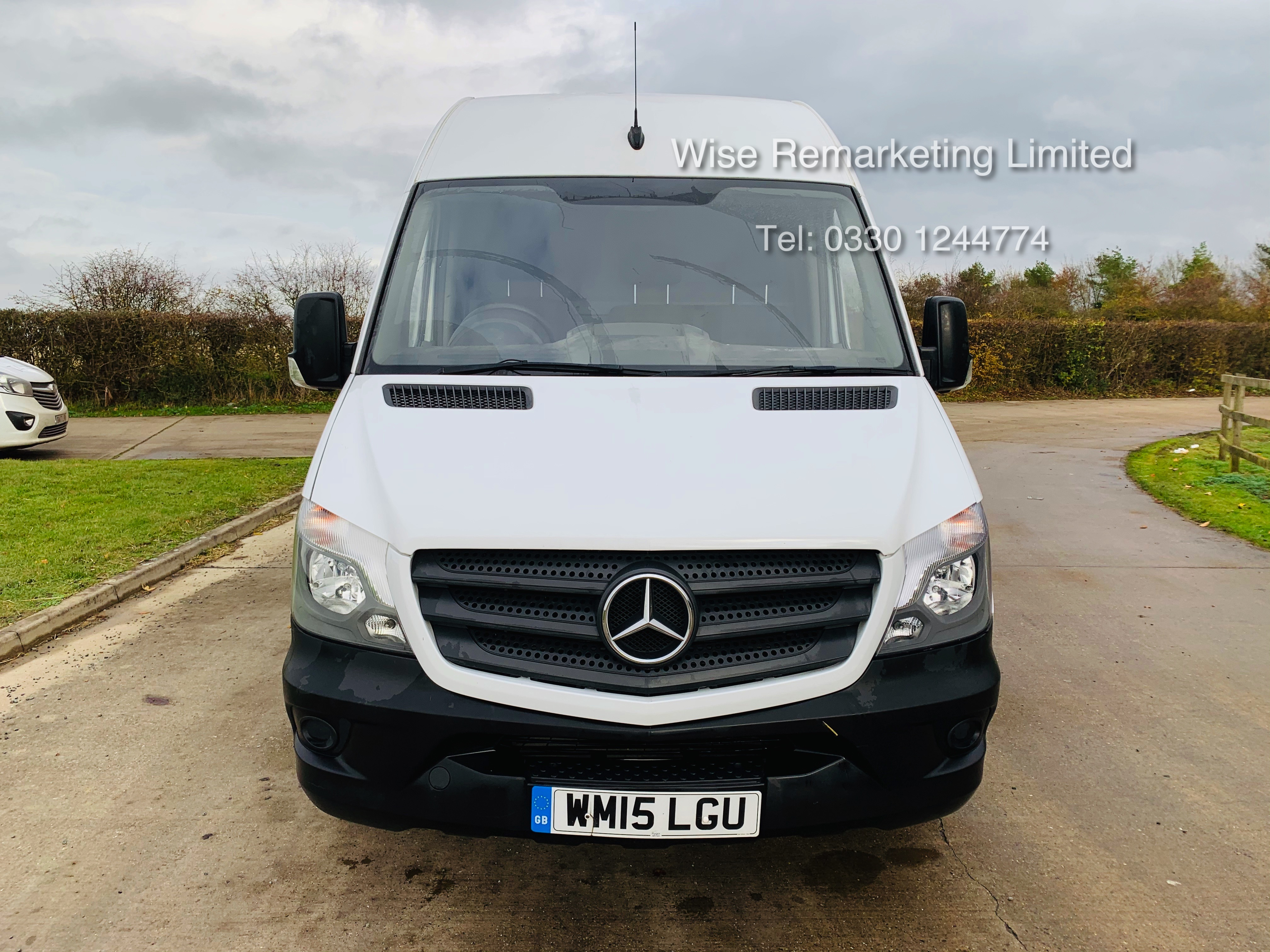 *Reserve Met* Mercedes Sprinter 313 CDI 2.1TD - 2015 15 Reg - Company Maintained - Low Miles - Image 8 of 16