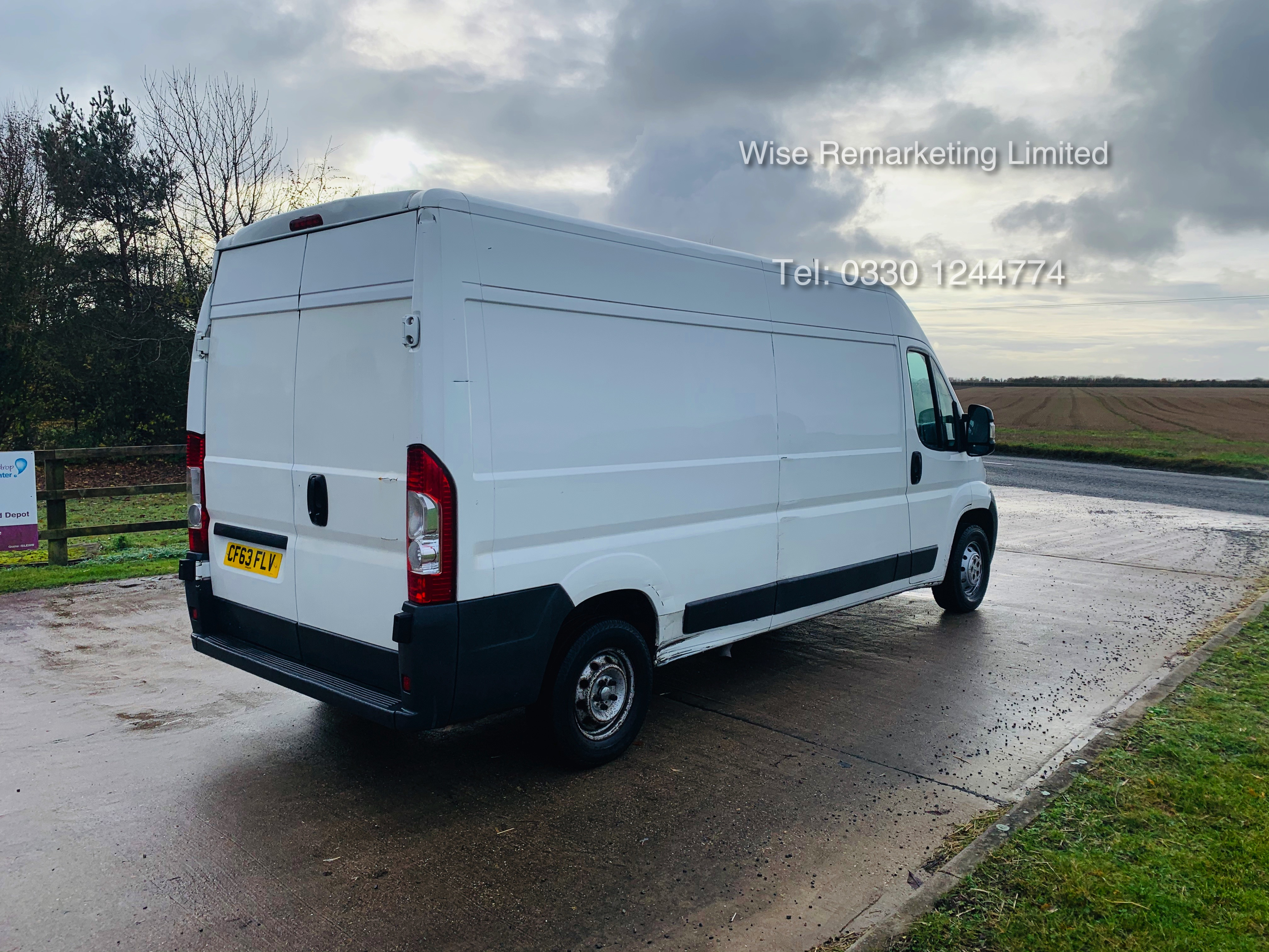 Peugeot Boxer 335 2.2 HDi (L3H2) 2014 Model - 1 Keeper From New - Long Wheel Base - Image 3 of 17