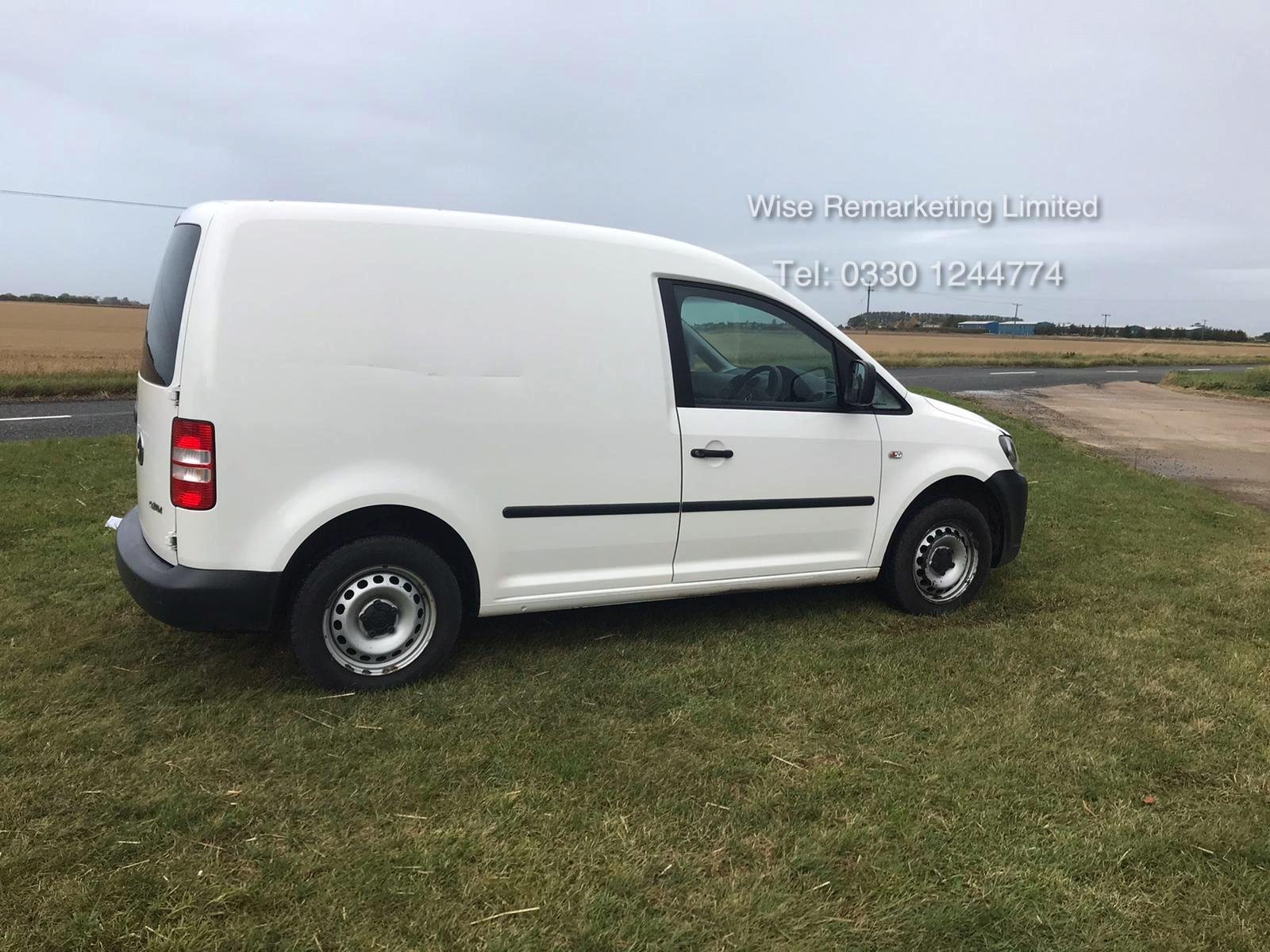 Volkswagen Caddy C20 + Startline 1.6 Tdi - 2014 Model - White - Side Loading Door - Ply Lined - Image 3 of 13