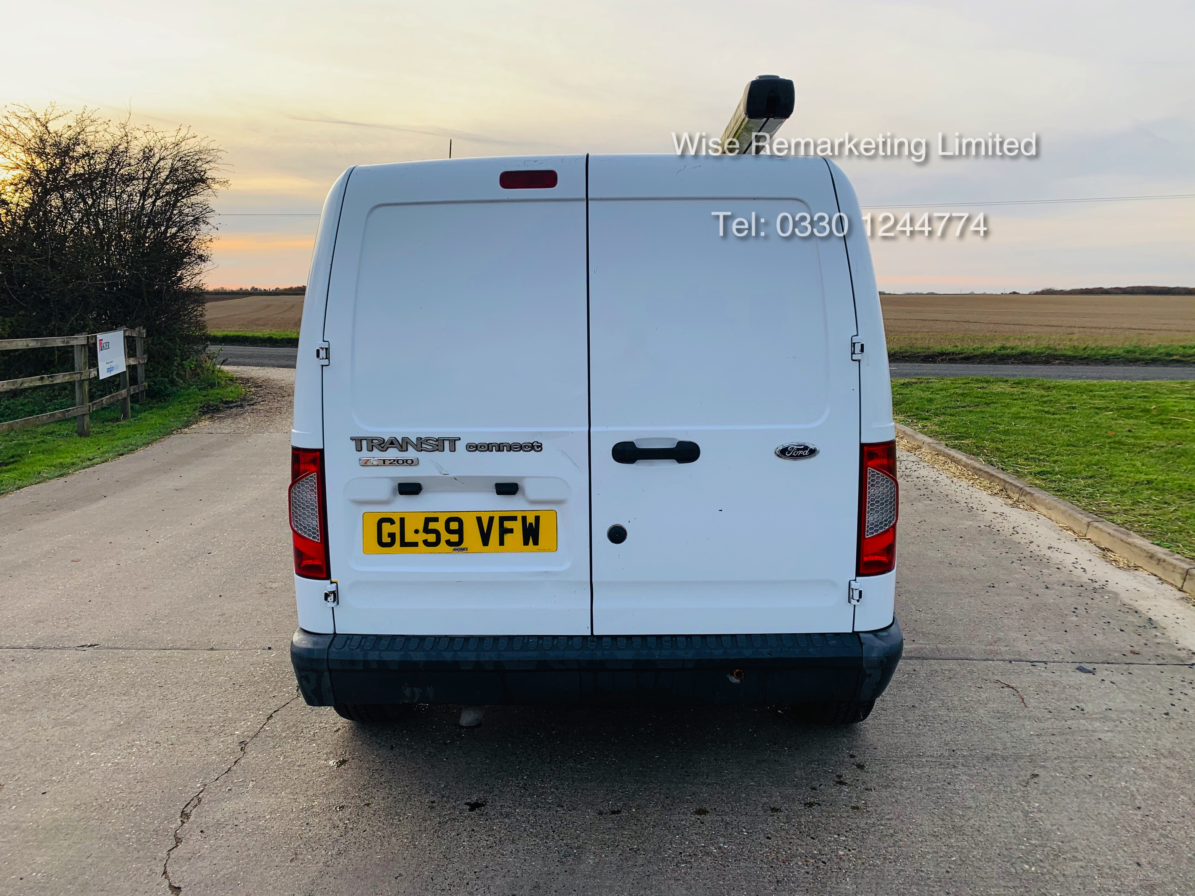 Ford Transit Connect T200 1.8 - 2010 Model - Side Loading Door - Ply Lined - Image 6 of 19