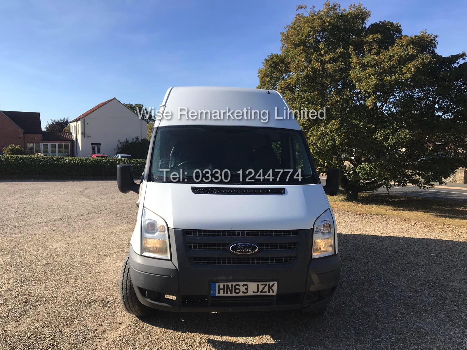 FORD TRANSIT 2.2Tdci T350 RWD *125 BHP* 6 SEATER MESSING UNIT (2014 MODEL) 1 KEEPER FROM NEW - Image 2 of 13