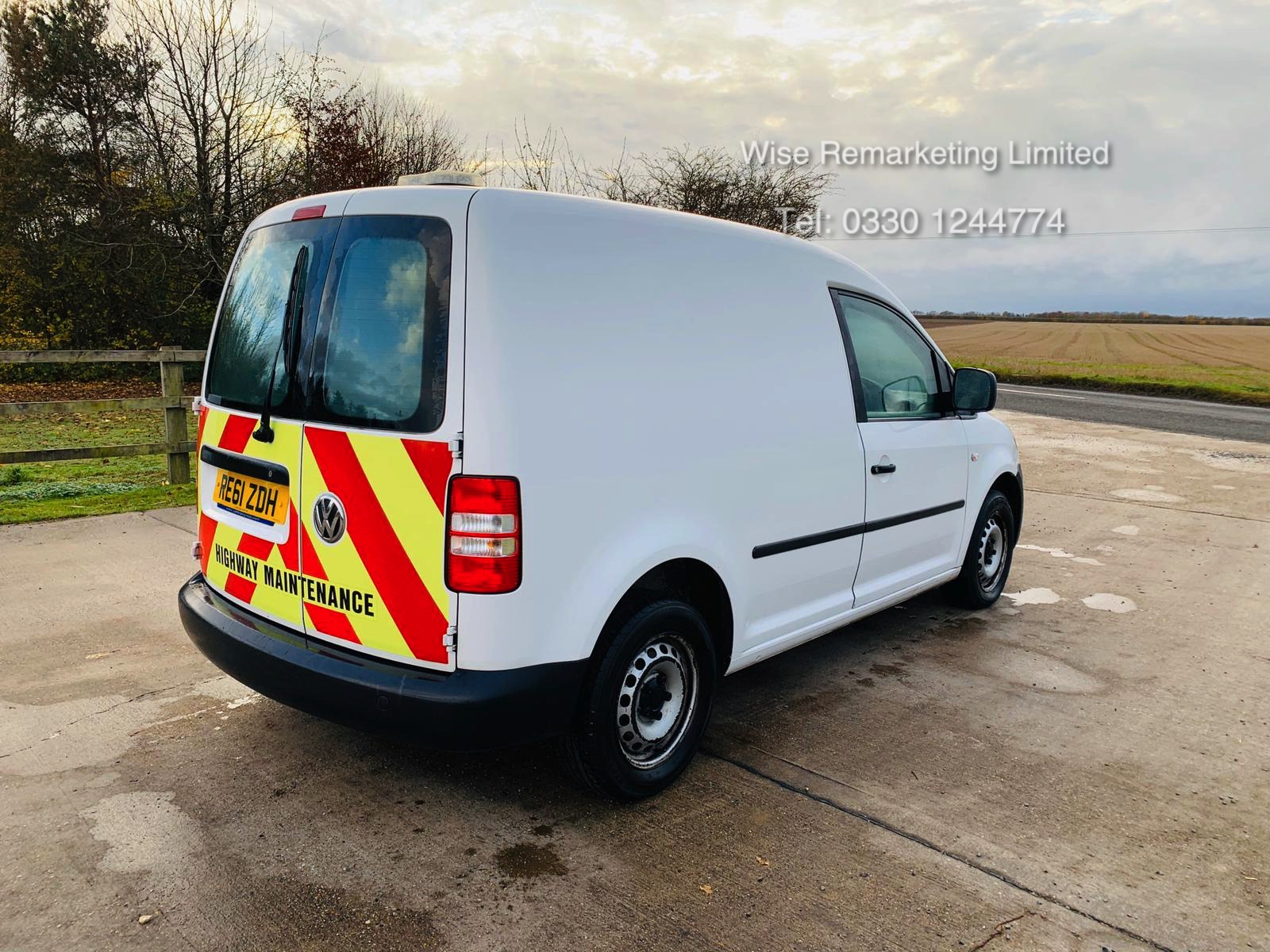 Volkswagen Caddy C20 1.6 TDI - 2012 Model - 1 Keeper From New - Side Loading Door - Ply Lined - Image 2 of 16