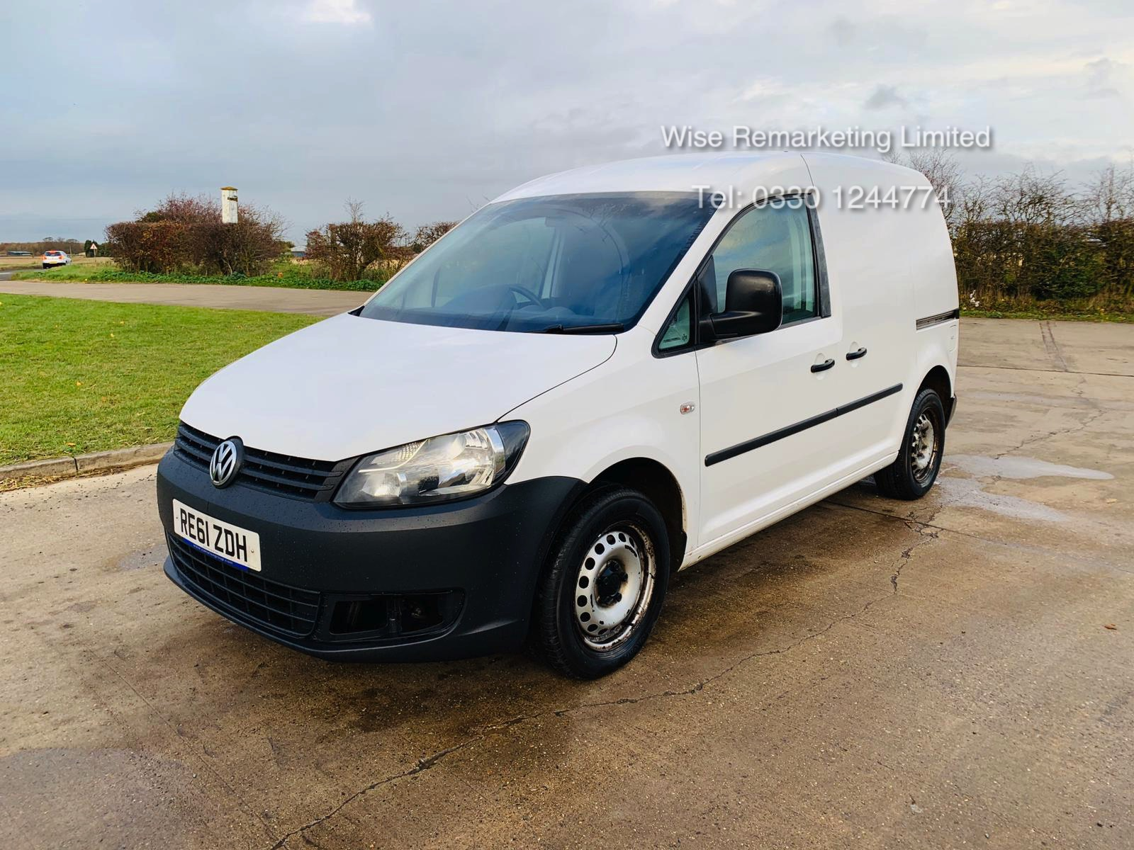 Volkswagen Caddy C20 1.6 TDI - 2012 Model - 1 Keeper From New - Side Loading Door - Ply Lined