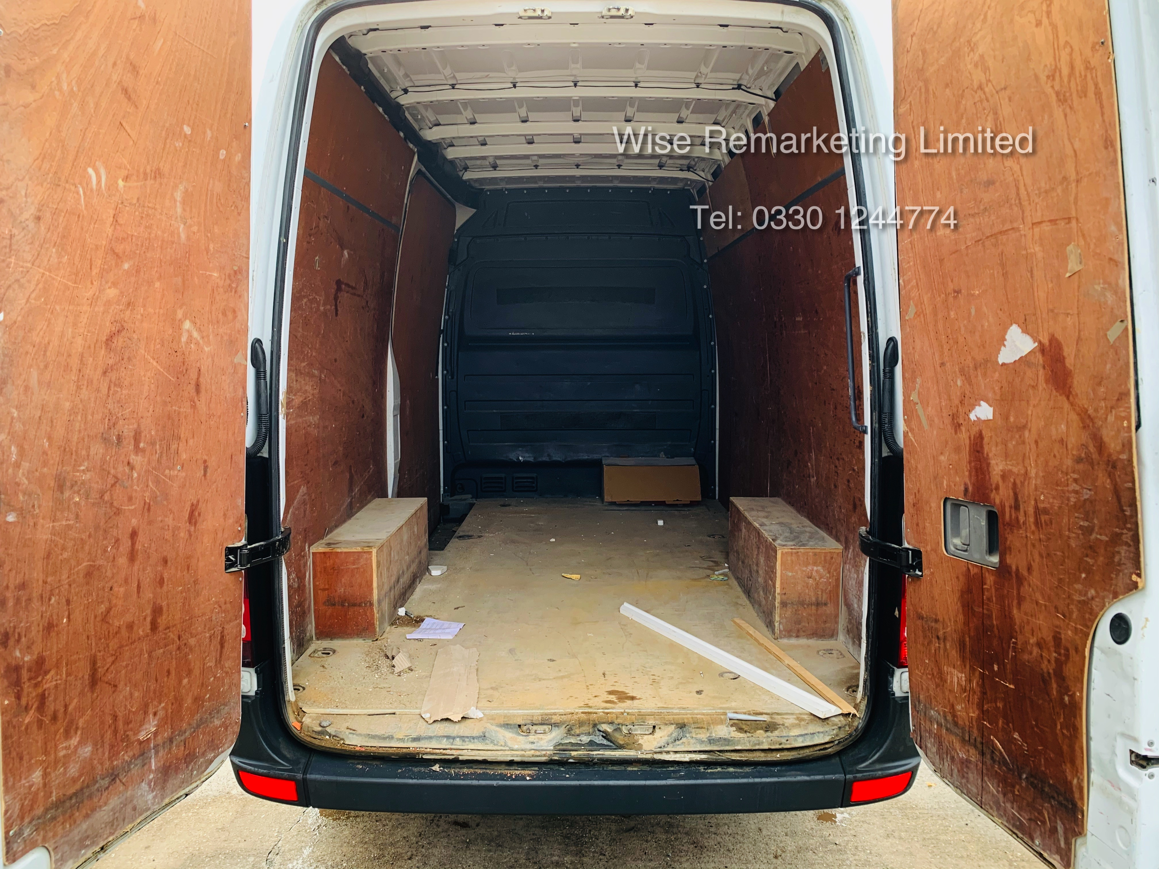 *Reserve Met* Mercedes Sprinter 313 CDI 2.1TD - 2015 15 Reg - Company Maintained - Low Miles - Image 9 of 16