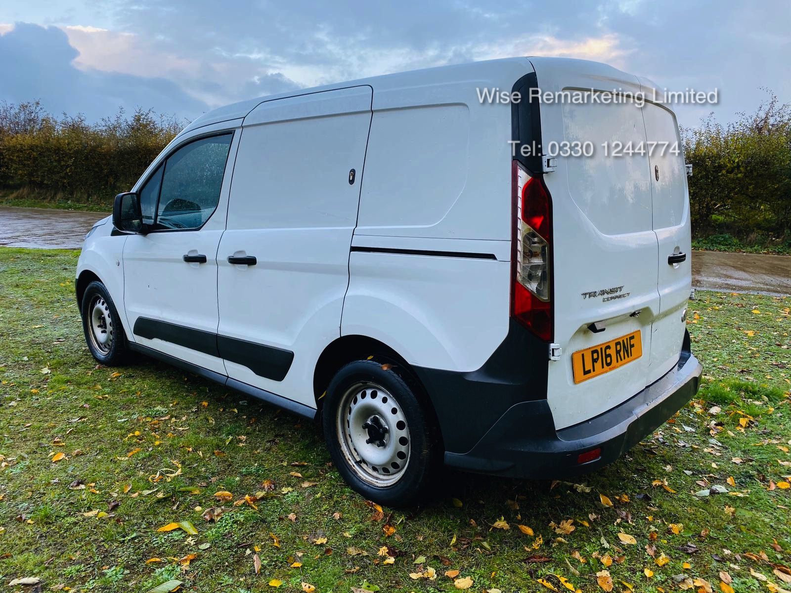 Ford Transit Connect 200 1.6 TDCI - 2016 16 Reg - 1 Keeper From New - Elec Pack -Bluetooth - Image 8 of 18