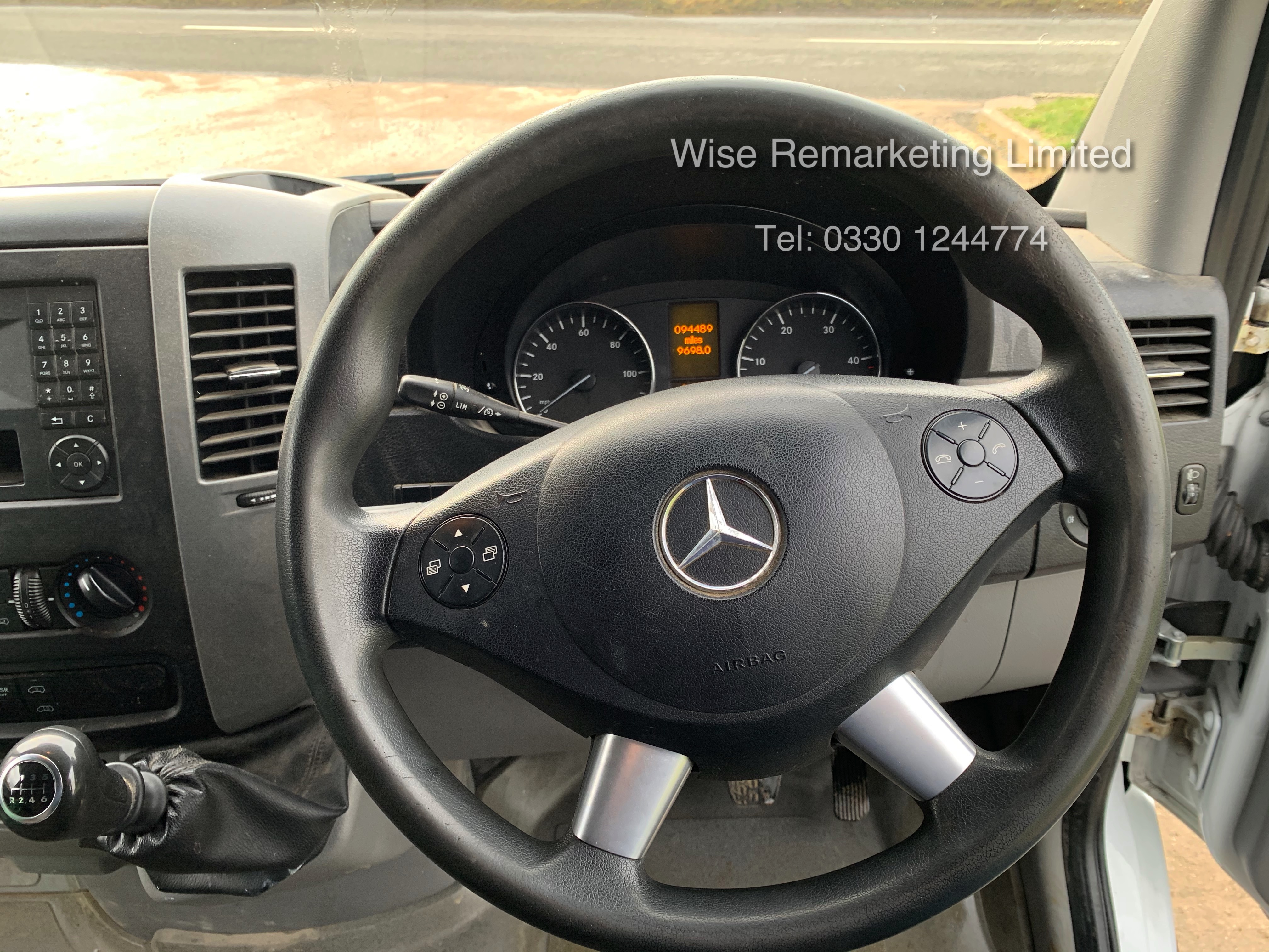 *Reserve Met* Mercedes Sprinter 313 CDI 2.1TD - 2015 15 Reg - Company Maintained - Low Miles - Image 13 of 16