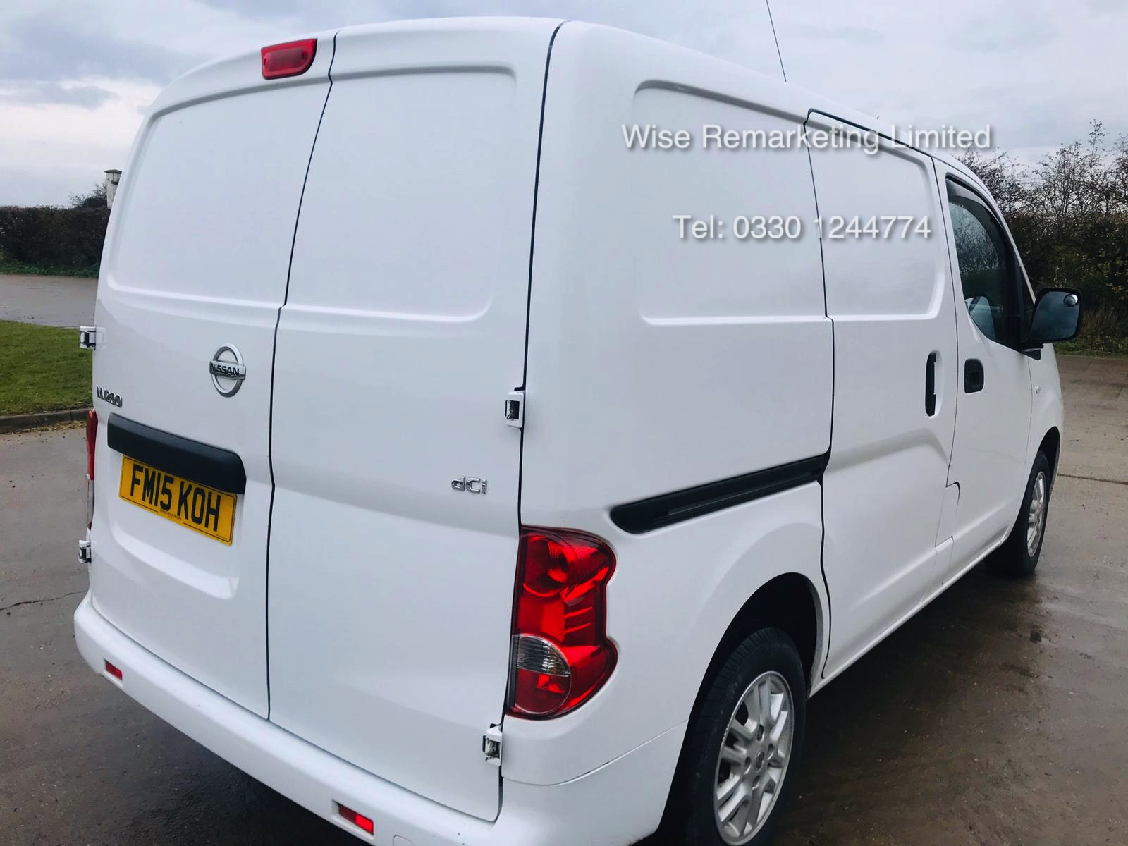 Nissan NV200 1.5 DCI Tekna Van 2015 15 Reg - 1 Keeper From New - Service History - Parking Sensors - Image 3 of 23