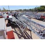 MOBILE BROADBAND TOWER TRAILER, WYLIE AND SONS, new 2009, 50' 3-section tower, hand winch, (2)