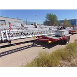 MOBILE BROADBAND TOWER TRAILER, AMERITRAIL MDL. FSI-512, new 2010, 50' 3-section tower, hand