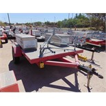 MOBILE BROADBAND TOWER TRAILER, AMERITRAIL MDL. FSI-512, new 2010, missing tower & winch, (2)