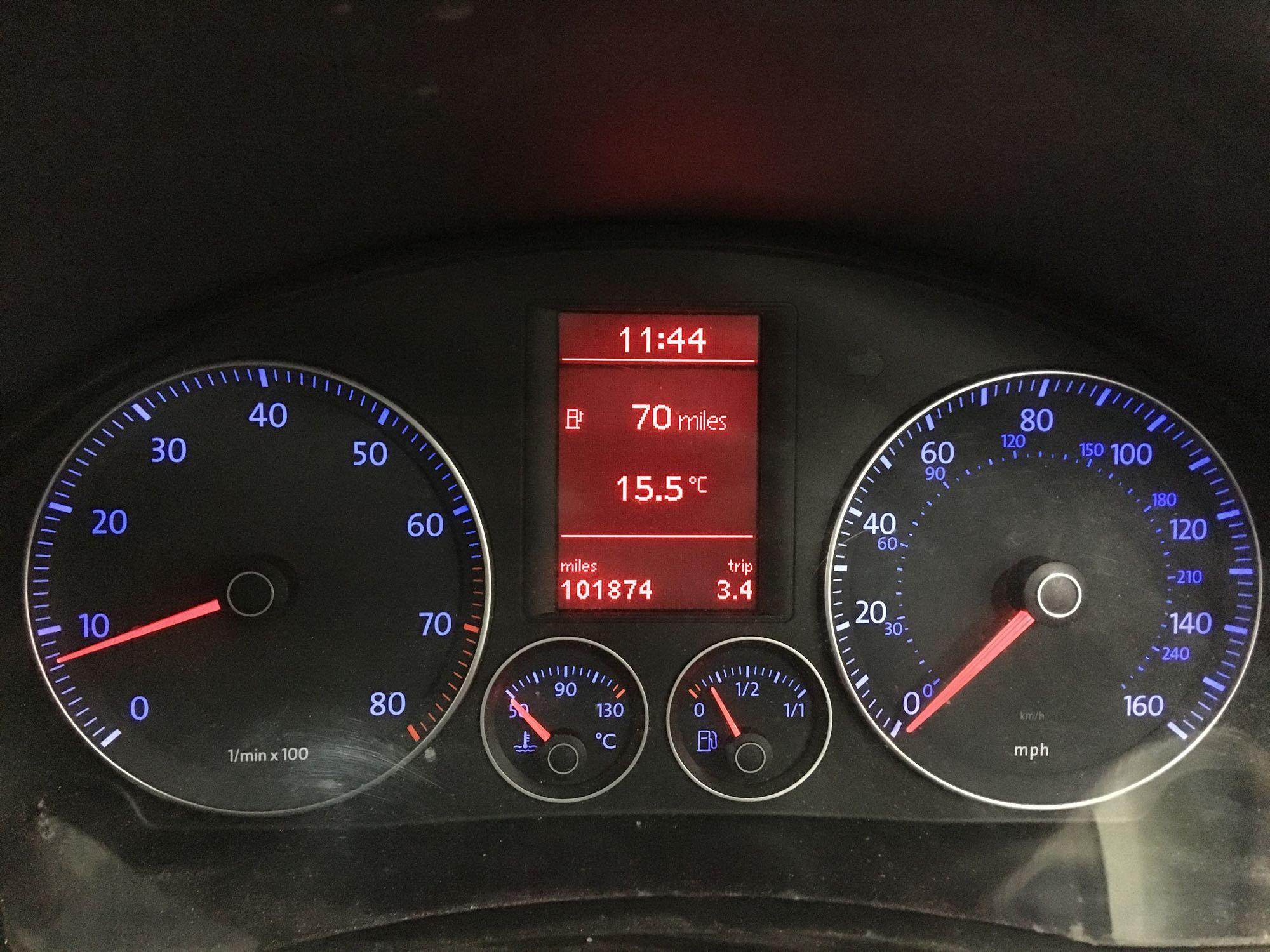 Lot 206 - Volkswagen Golf Match Fsi 115 - 1598cc 5 Door