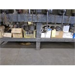 LOT OF ABRASIVES, assorted (under one bench)