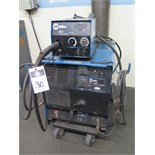 Miller CP-302 CV-DC Arc Welding Power Source s/n LC456264 w/ Miller 22A Wire Feeder