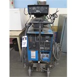 Miller CP-300 CV-DC Arc Welding Power Source s/n KA824066 w/ Miller S-52A Wire Feeder