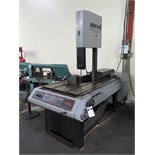 "Marvel Series 8 MARK II 18"" Vertical Miter Band Saw w/ Manual Clamping, 45 Degree Miter Capab"