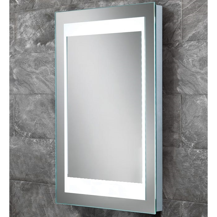 Bathstore 'Atmos' designer back lit LED illuminated mirror with de-mister and no-touch sensor