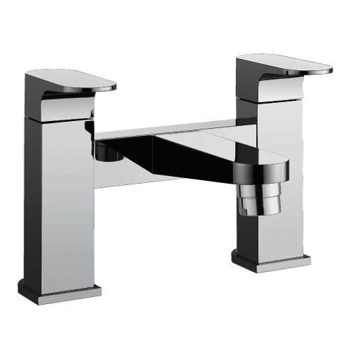 Bathstore 'Track' very high quality, designer bath mixer tap.