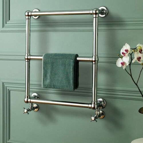 Fervent Traditional Ball Jointed Towel Radiator 686mm x 600mm Brand new, factory sealed packaging. - Image 3 of 3