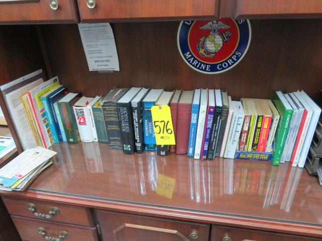 Lot 576 - ASSORTED TECHNICAL MACHINE SHOP BOOKS
