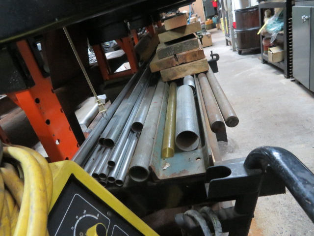 Lot 2 - ASSORTED ALLOY STEEL BAR STOCK (RACKS NOT INCLUDED)