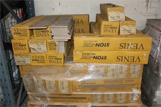 40X PACKS OF VENUS STONKER MULTI BLOCK NON SLIP FLOOR TILES