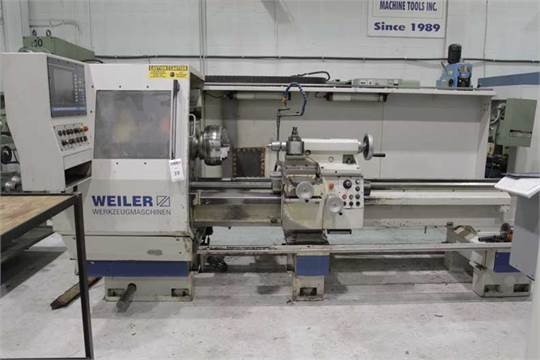 Weiler E50 x 2000 Universal Center Lathe with Automated