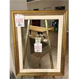 "Picture frame only, 27""x35"""