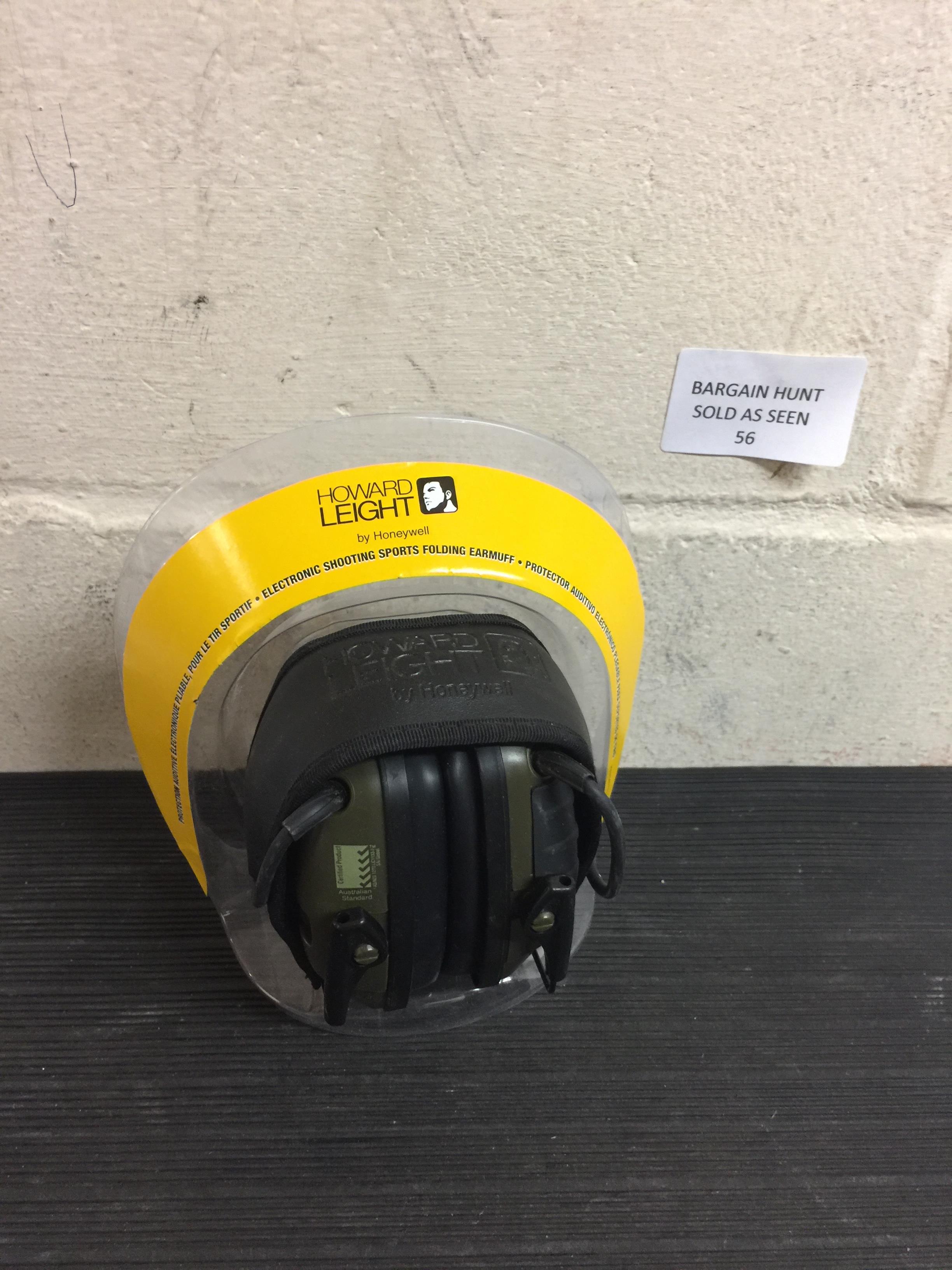 Lot 56 - Honeywell Howard Leight Impact Sport Foldable Ear Defender