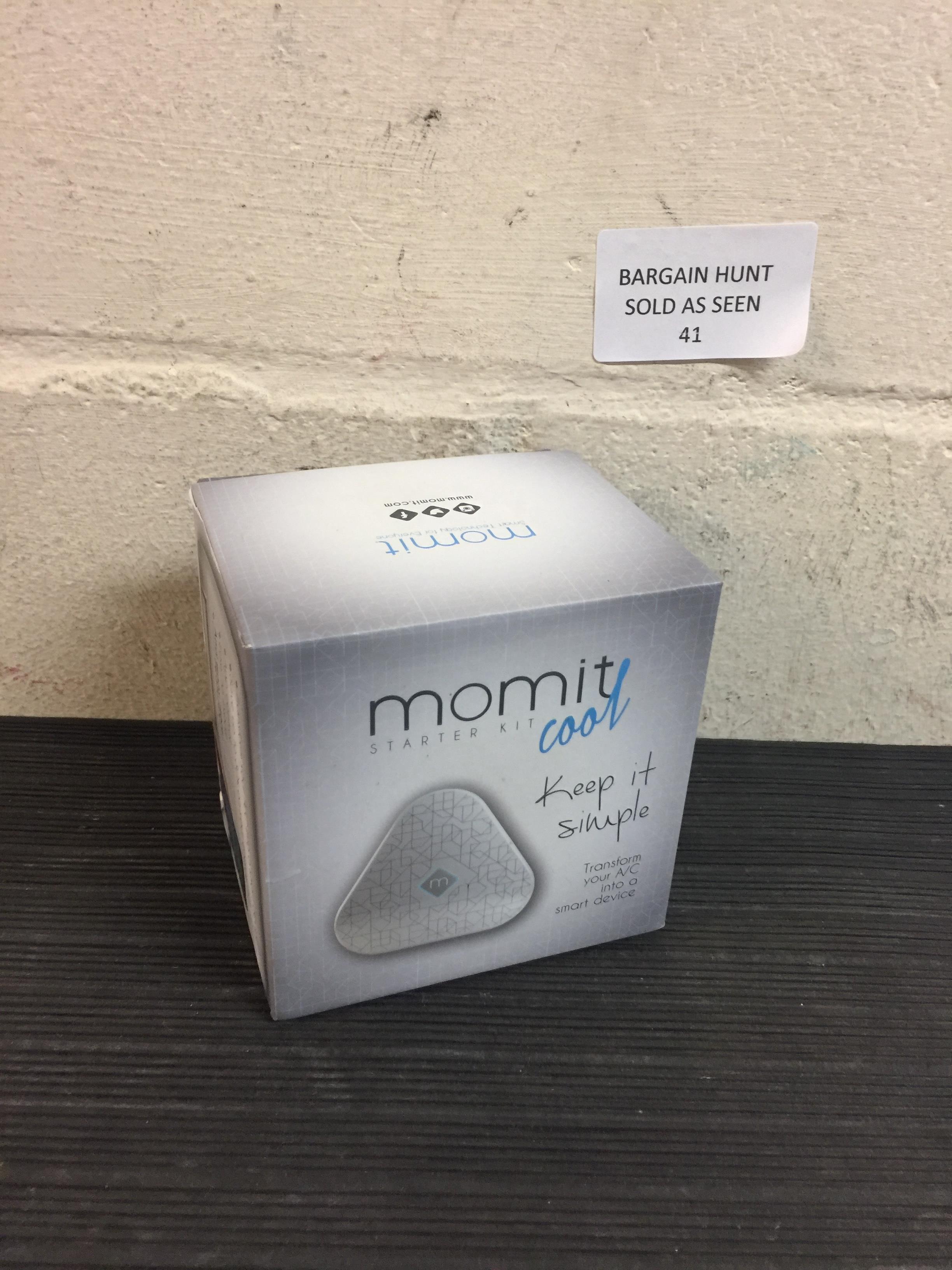 Lot 41 - Momit Cool - Starter Kit Smart Thermostat RRP £92.99