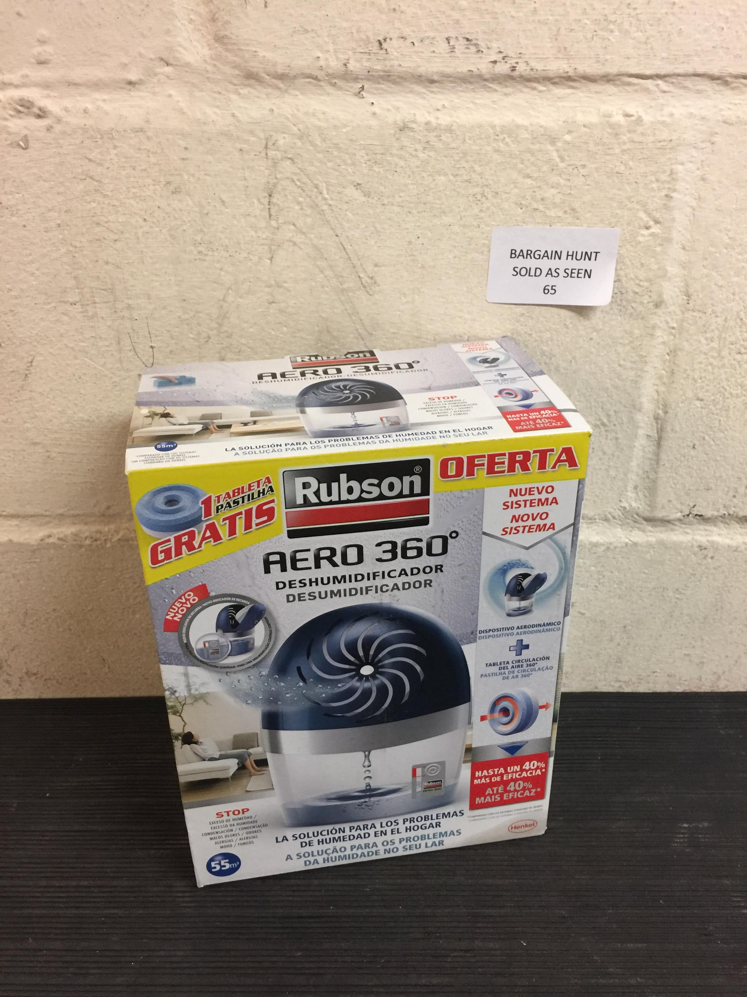 Lot 65 - Rubson Aero 360 Dehumidifier