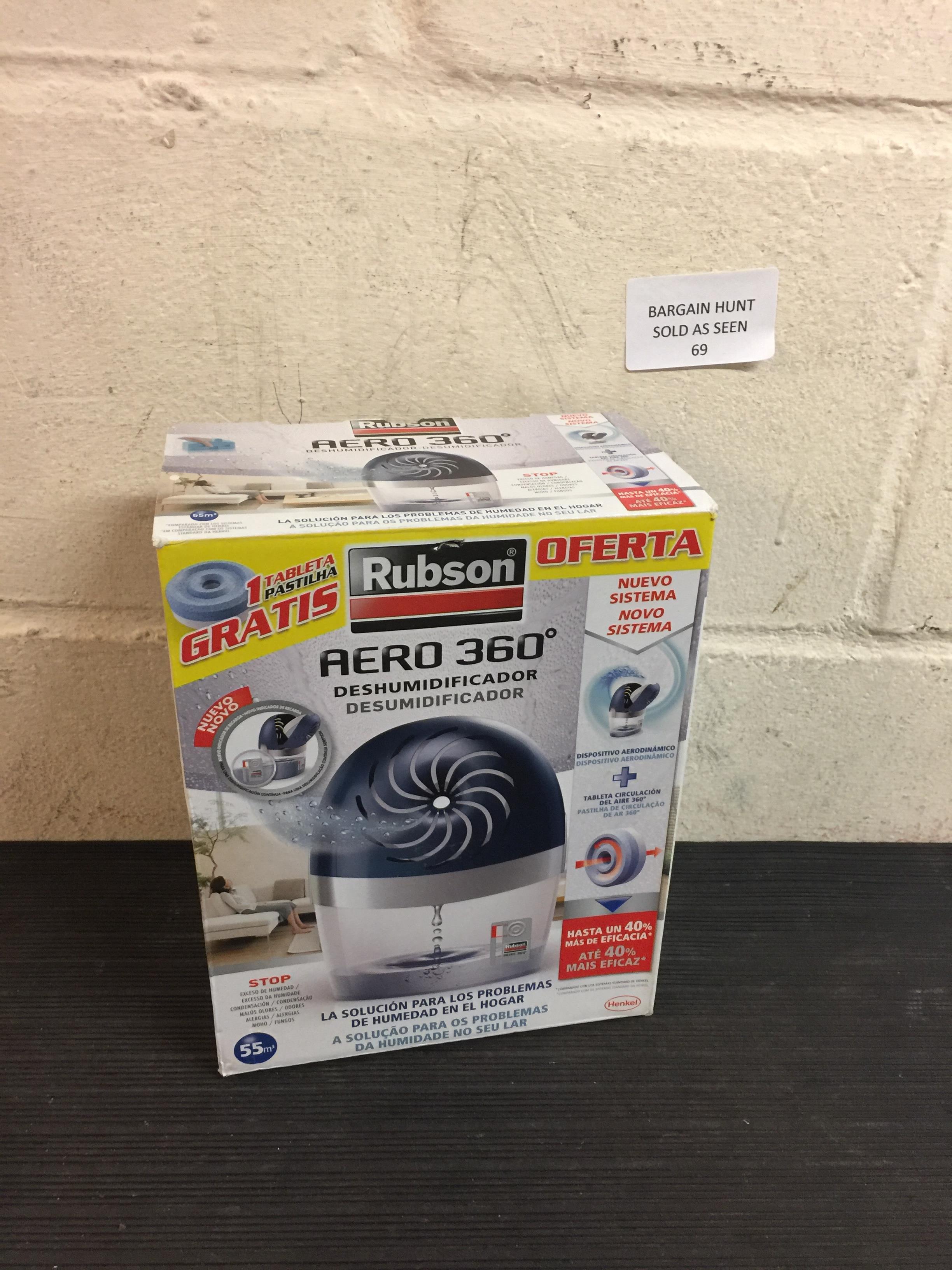 Lot 69 - Rubson Aero 360 Dehumidifier